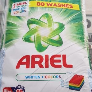 NEW Ariel Washing Powder 8KG  Whites + Colors