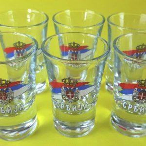 Shot Glass 6 pack 30 ML