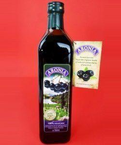 Aronia Juice & Pomegranate Juice & Aronia Tea