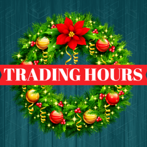 Christmas & Holiday Trading Hours